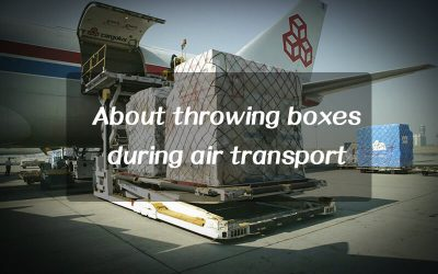 Is it common to lose boxes during air freight?